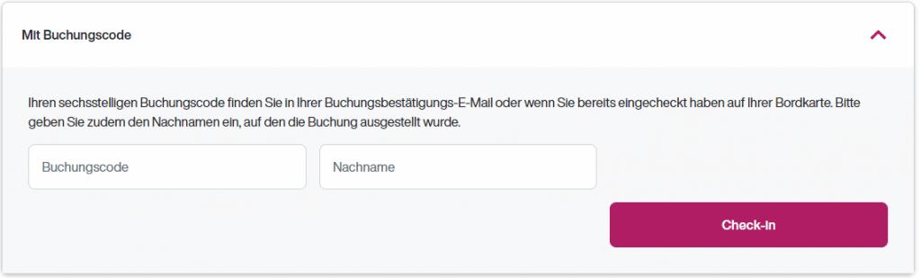 eurowing online check in buchungscode