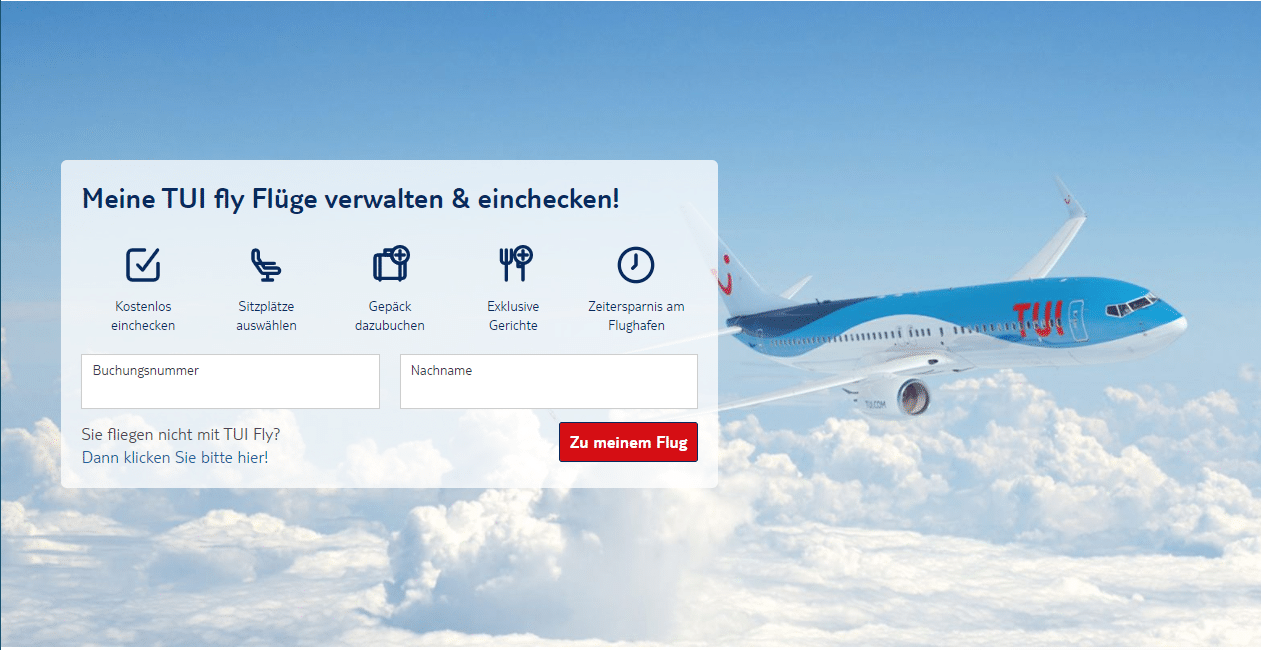 tuifly web check in